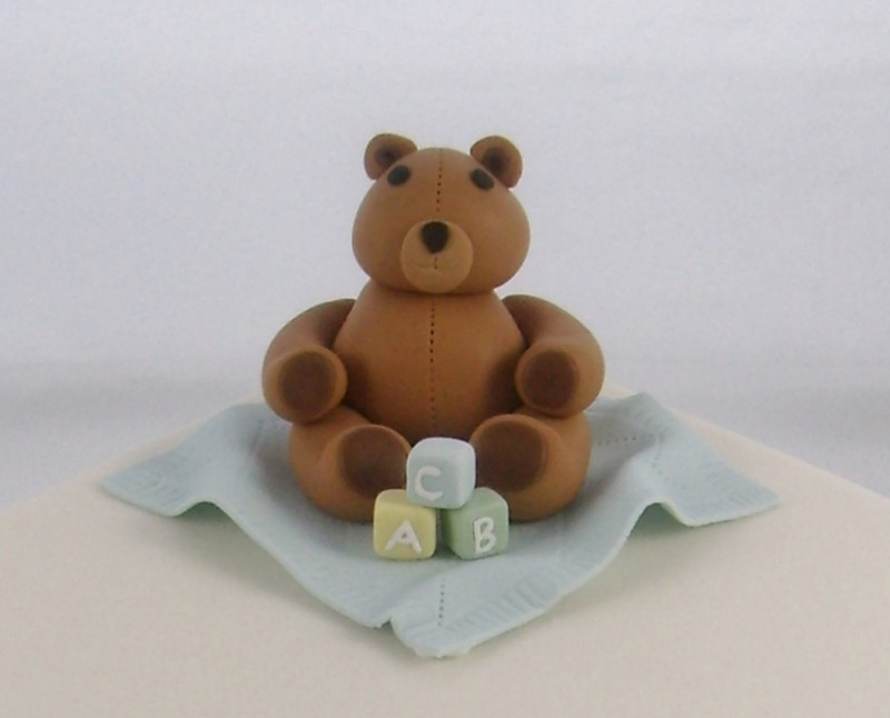 Fondant Bear Close Up